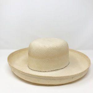Vintage Straw Hat Sonni San Francisco